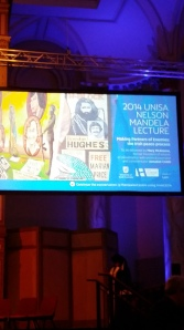 Nelson Mandela Lecture 2014 UniSA, Adelaide Town Hall