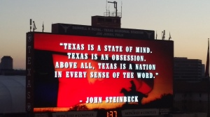 Steinbeck at the Longhorns Game